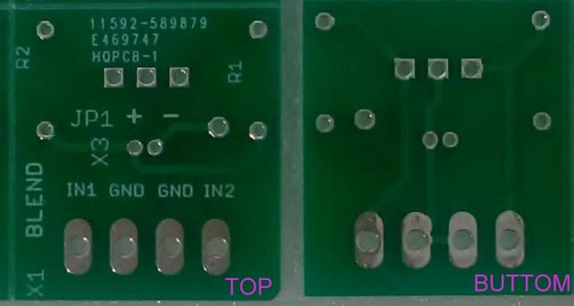 PCB de dos capas