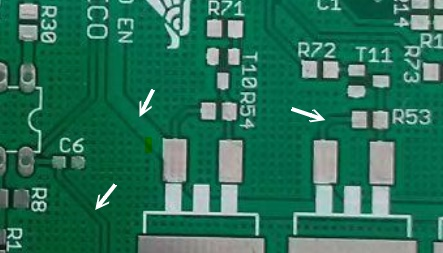 Pistas de una PCB