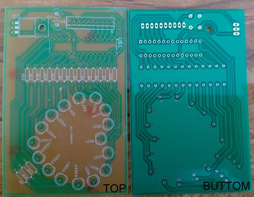 PCB 1 cara