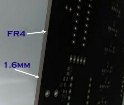 Grosor de una PCB