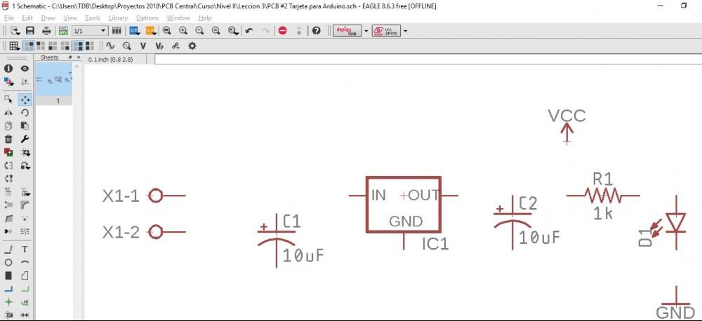 Tarjeta Para Arduino: Diseño del diagrama esquemático | PCB ... on breadboard schematic, servo schematic, atmega32u4 schematic, ipad schematic, shields schematic, msp430 schematic, wiring schematic, wireless schematic, iphone schematic, apple schematic, pcb schematic, audio schematic, atmega328 schematic, robot schematic,