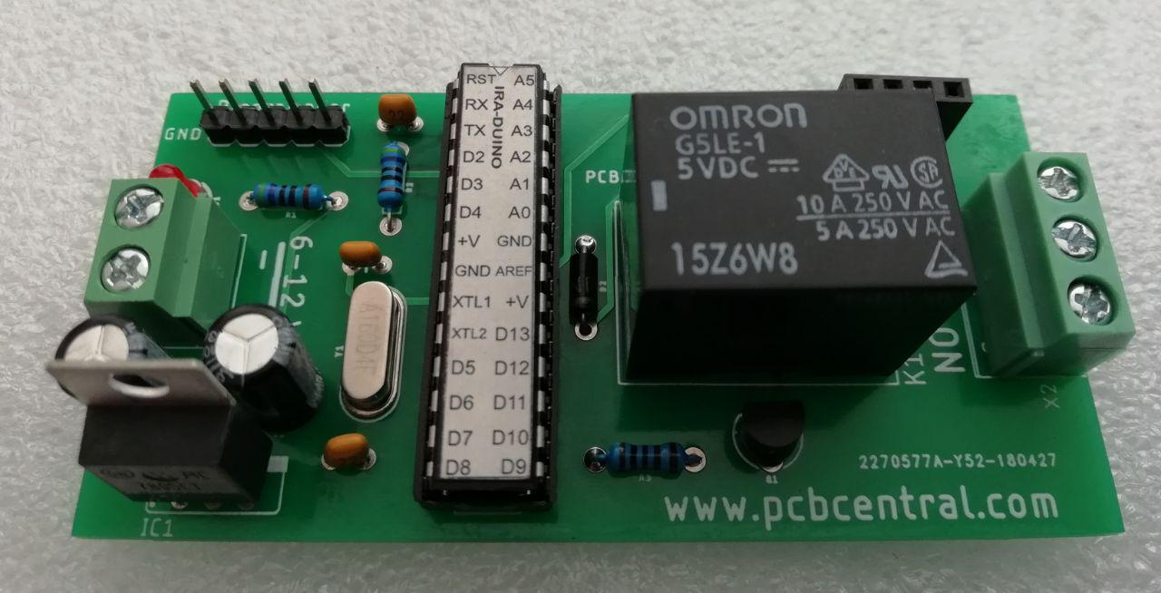 Arduino en una PCB