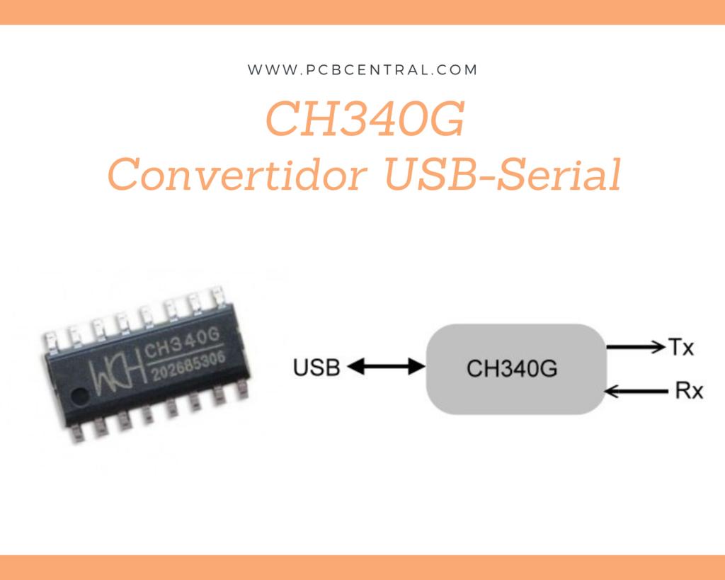 CH340 y su diagrama a bloques