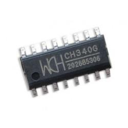 Ch340G: convertidor de USB a serial