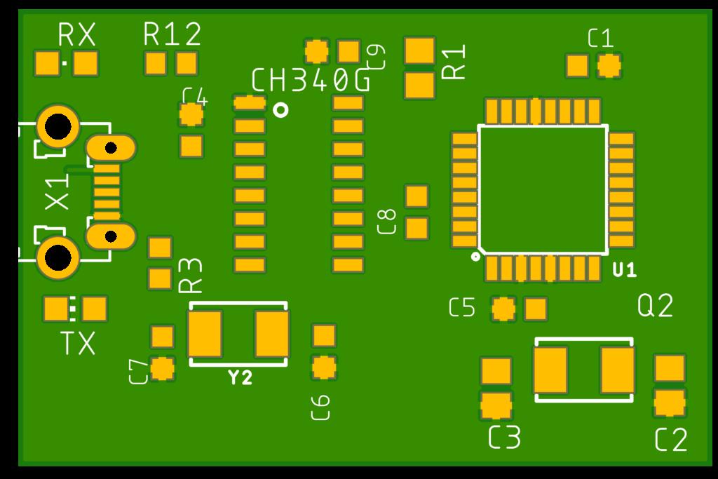 Atega328P con CH340G